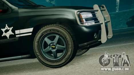 SUV TRBZ pour GTA 4 Vue arrière de la gauche