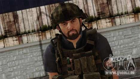 Modern Warfare 2 Skin 12 pour GTA San Andreas troisième écran