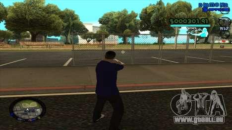 C-HUD Lopez für GTA San Andreas dritten Screenshot