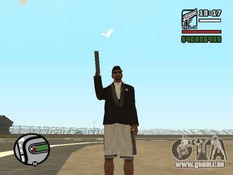 La double propriété de toutes les armes pour GTA San Andreas troisième écran