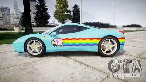 Ferrari 458 Italia 2010 v3.0 Purrari pour GTA 4 est une gauche