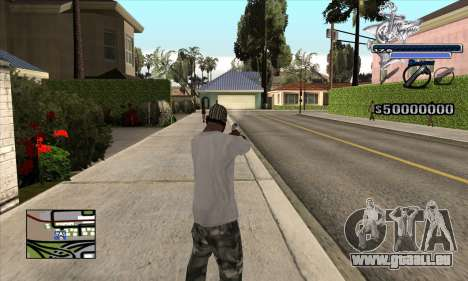 C-HUD Shark für GTA San Andreas
