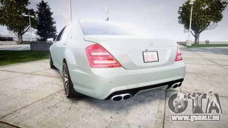 Mercedes-Benz S65 W221 AMG v2.0 rims1 für GTA 4 hinten links Ansicht