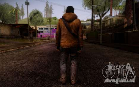 Louis from Left 4 Dead Beta für GTA San Andreas zweiten Screenshot