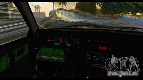 ВАЗ 2113 Haltung Nation für GTA San Andreas zurück linke Ansicht