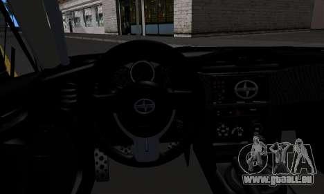 Scion FR-S (IVF) für GTA San Andreas rechten Ansicht
