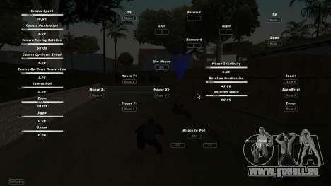 CumHunt - plugin pour la vidéo pour GTA San Andreas troisième écran