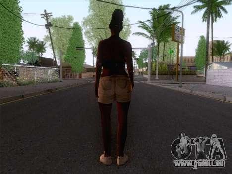 New Ballas Skin 3 pour GTA San Andreas deuxième écran