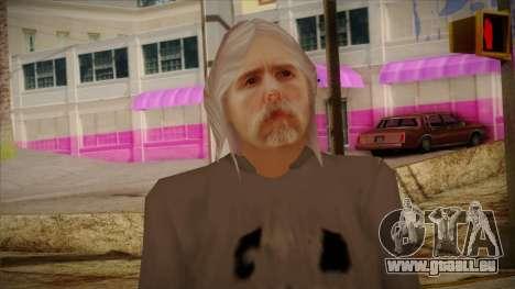 Varg Vikernes Skin für GTA San Andreas dritten Screenshot