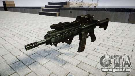 Fusil HK416 CQB cible pour GTA 4