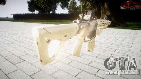 Fusil AR-15 CQB cible typeeotech pour GTA 4 secondes d'écran