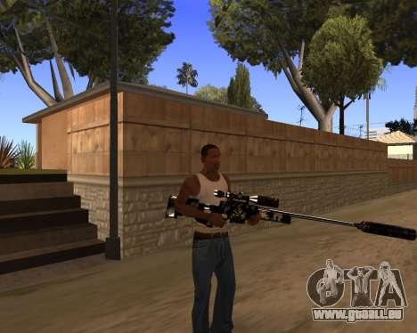 Hitman Weapon Pack v1 für GTA San Andreas her Screenshot