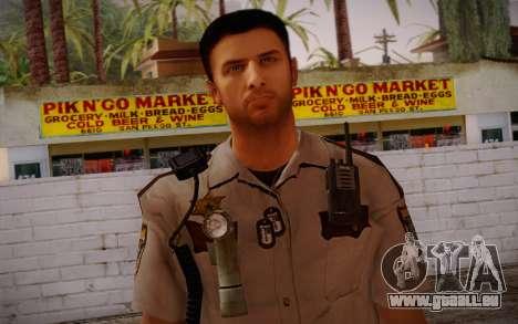 Alex Shepherd From Silent Hill Police für GTA San Andreas dritten Screenshot