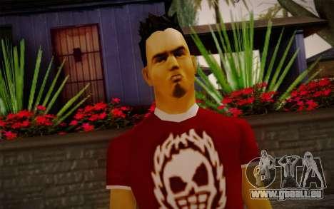 Ginos Ped 32 pour GTA San Andreas troisième écran