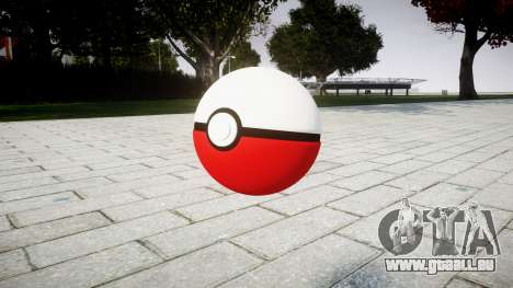 Granatapfel Pokeball für GTA 4 Sekunden Bildschirm