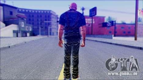 Outlast Skin 3 pour GTA San Andreas deuxième écran