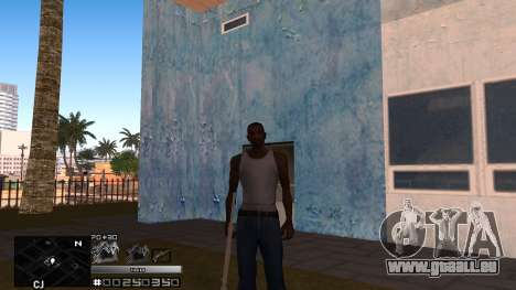C-HUD Silver pour GTA San Andreas