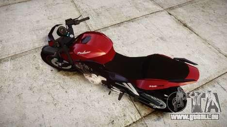Bajaj Pulsar 200NS Custom pour GTA 4 est un droit