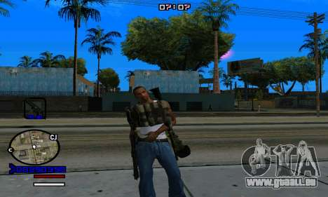 C-HUD Normal pour GTA San Andreas sixième écran