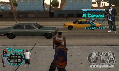 C-HUD Aztec El Corona für GTA San Andreas zweiten Screenshot