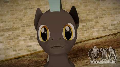 Thunderlane from My Little Pony pour GTA San Andreas troisième écran