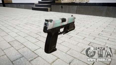 Pistole HK USP 45 Warschau für GTA 4 Sekunden Bildschirm