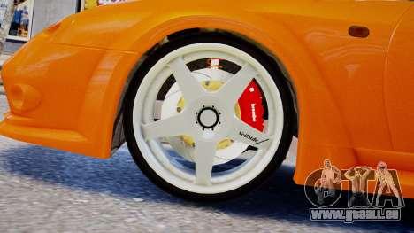 Toyota Supra VeilSide Fortune 03 v1.0 pour GTA 4 Vue arrière de la gauche
