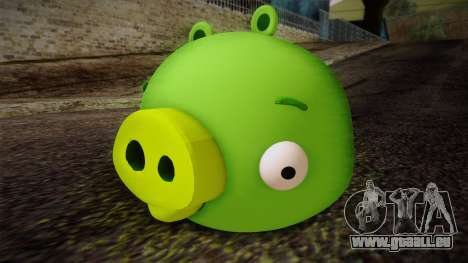 Pig from Angry Birds für GTA San Andreas