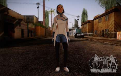 Dr. Eva Sci Fi New Face from Mass Effect für GTA San Andreas
