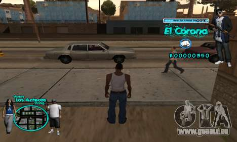 C-HUD Aztec El Corona für GTA San Andreas