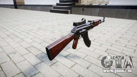 L'AK-47 Collimateur pour GTA 4 secondes d'écran