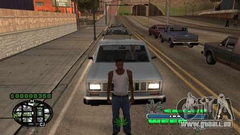 C-HUD Smoke Weed pour GTA San Andreas