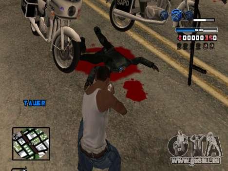 C-HUD Fantastik pour GTA San Andreas quatrième écran