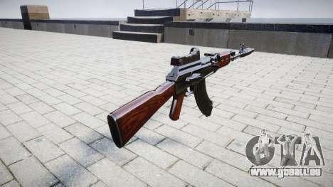 Die AK-47 Kollimator und Mündungsbremse für GTA 4 Sekunden Bildschirm
