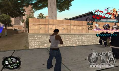 C-HUD Tawer GTA 5 pour GTA San Andreas troisième écran