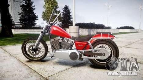 Western Motorcycle Company Daemon für GTA 4 linke Ansicht
