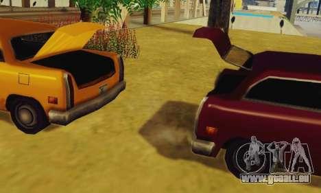 Cabbie Wagon für GTA San Andreas rechten Ansicht