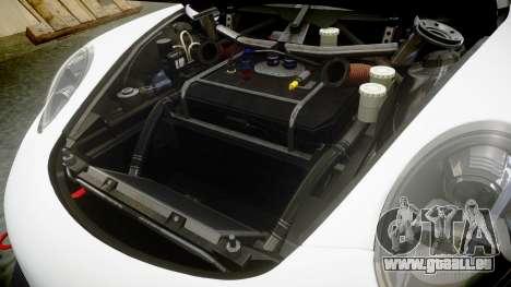 RUF RGT-8 GT3 [RIV] YCA pour GTA 4 est une vue de l'intérieur