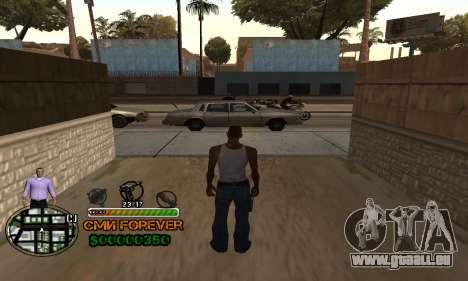 C-HUD СМИ FÜR IMMER für GTA San Andreas zweiten Screenshot