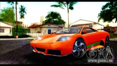 GTA 5 Pegassi Infernus [HQLM] pour GTA San Andreas