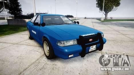 GTA V Vapid Police Cruiser Gendarmerie2 pour GTA 4