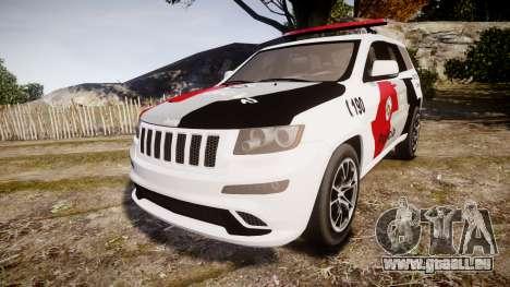 Jeep Grand Cherokee SRT8 Forca Tatica [ELS] pour GTA 4