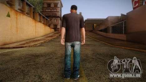 Gedimas Wmybar Skin HD pour GTA San Andreas deuxième écran