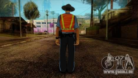 Missouri Highway Patrol Skin 1 pour GTA San Andreas deuxième écran