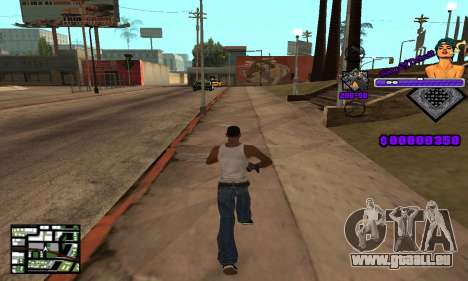 C-HUD King Of Detroit für GTA San Andreas dritten Screenshot