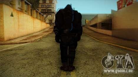 Super Soldier from Prototype 2 für GTA San Andreas zweiten Screenshot