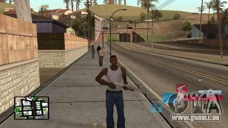 C-HUD by SampHack v.19 für GTA San Andreas