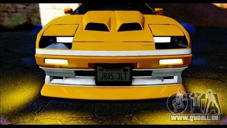 GTA 5 Ruiner Tuning pour GTA San Andreas sur la vue arrière gauche