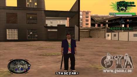 C-HUD für GTA San Andreas