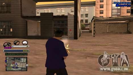 C-HUD Universal pour GTA San Andreas troisième écran